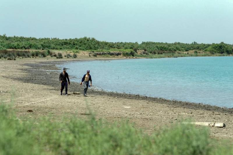Azerbaijan villagers plead for water as vital river dries up