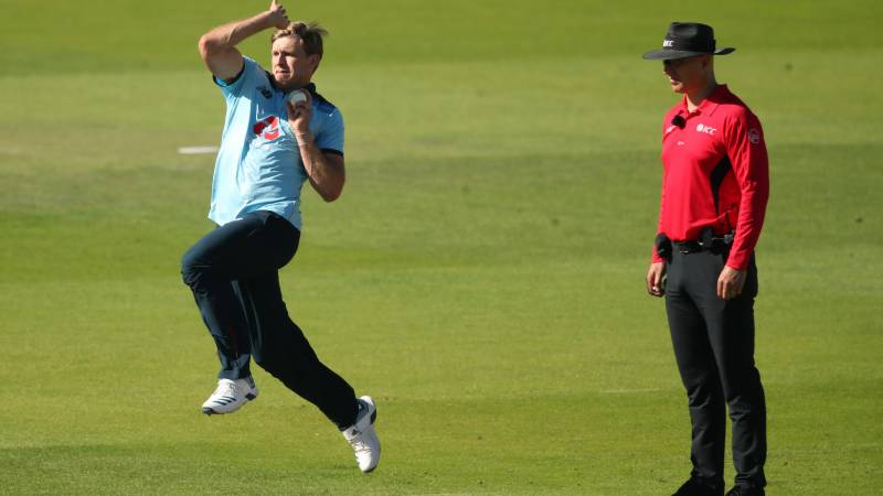 England's Willey takes five as Ireland all out for 172 in ODI return