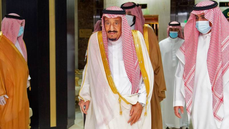 Hosting limited hajj required 'double efforts': Saudi king