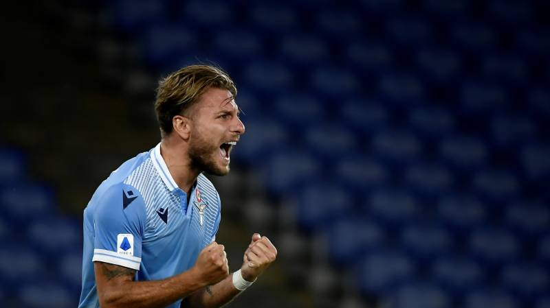 Lazio forward Immobile set for coronation as Europe's goal king