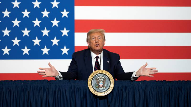 Trump says US election should be delayed