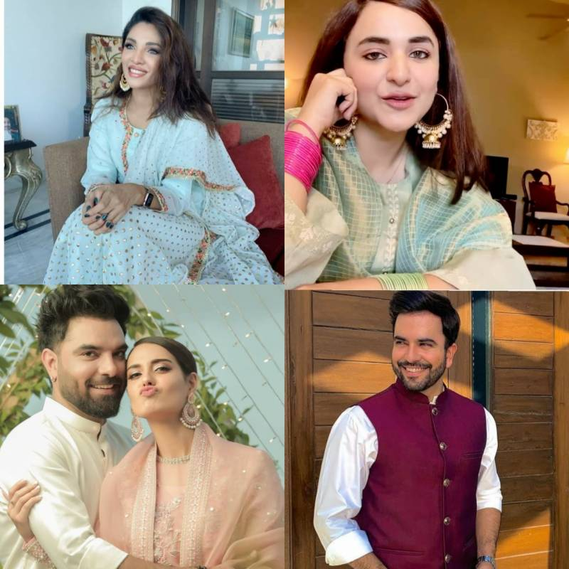 Celebs light up Instagram on first day of Eid ul Azha