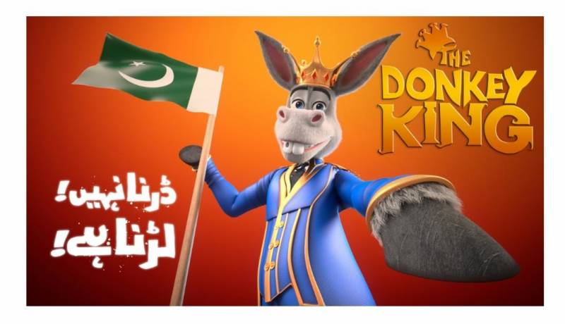 Donkey Raja once more! This Eid