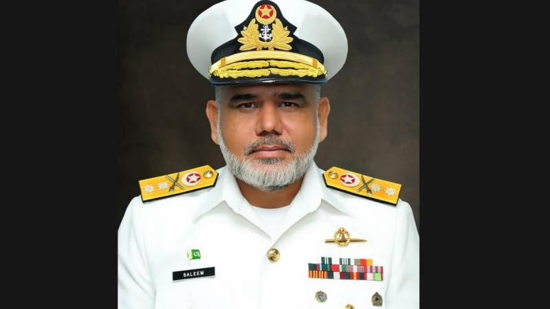Commodore Muhammad Saleem promoted to Rear Admiral