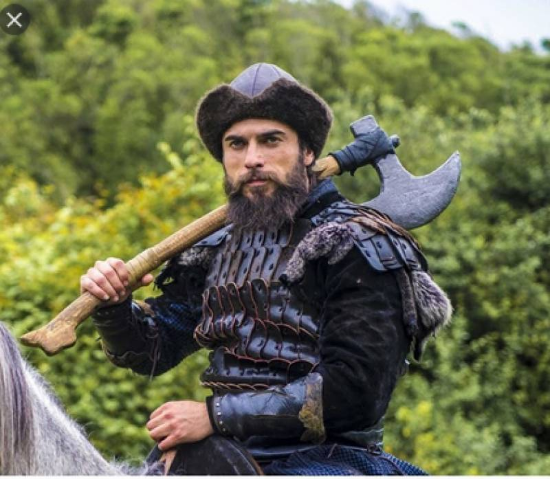 Ertugrul Axe Warrior says broke elbow while practising weapon
