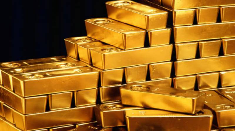 Gold price in Pakistan surges to Rs123,900 per tola