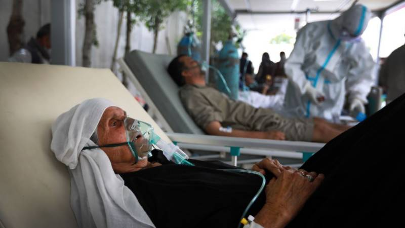 Third of Afghans estimated to have contracted virus: health ministry