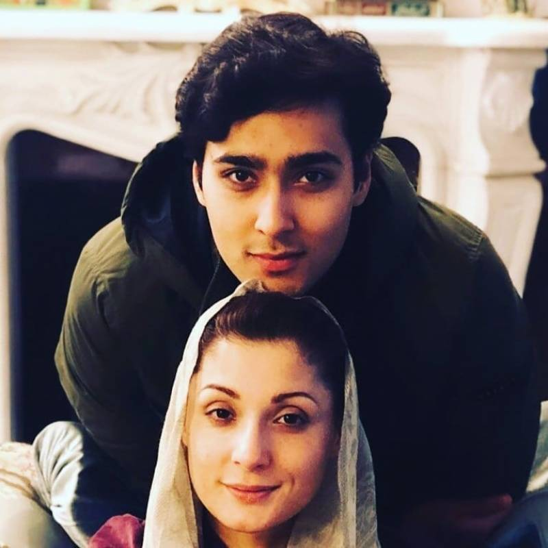 Who is Maryam Nawaz's son getting engaged to?