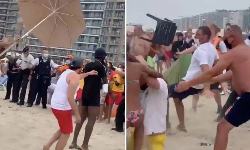 Belgian resorts shut to day-trippers after beach fight