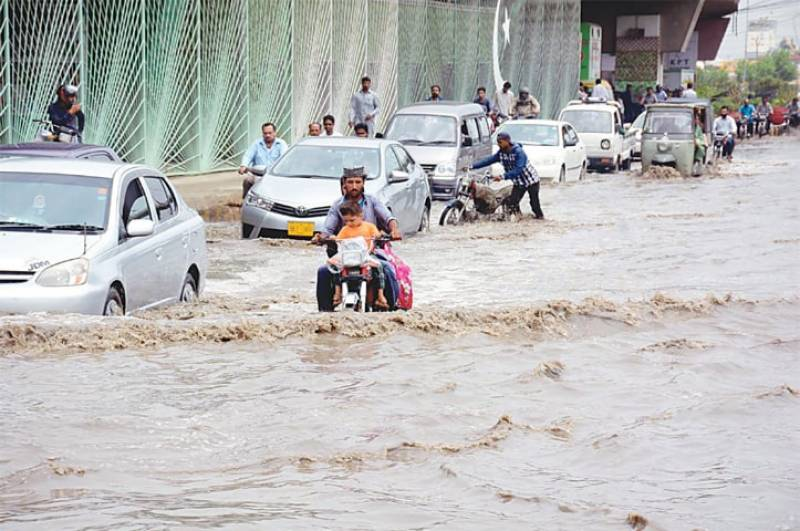 10 die in rain-related incidents across Sindh