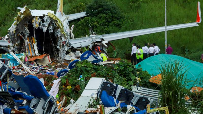Indian minister warns against 'speculating' on air disaster cause