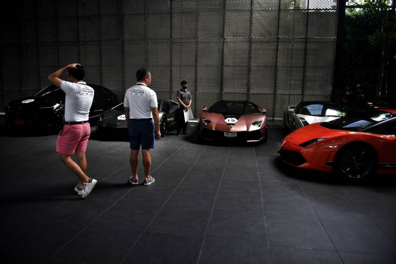 Supercars and champagne: Bangkok's rich purr through pandemic