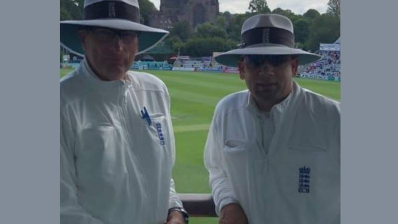 England umpires to walk distance equivalent from Lahore to Manchester