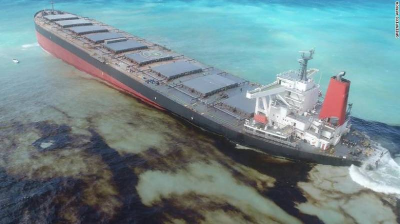 Mauritius dodges second oil spill as fuel pumped from stricken ship