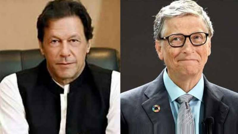 Bill Gates acknowledges Pakistan's virus efforts during phone call with PM Khan