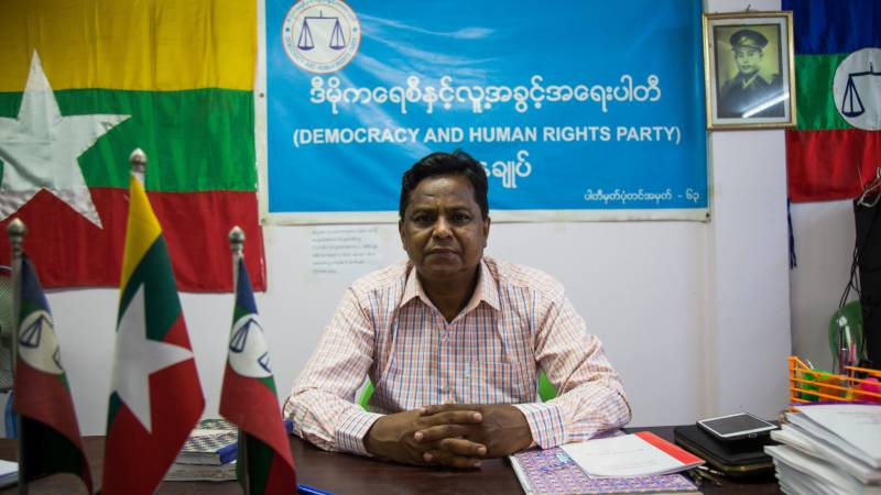 Myanmar bars Rohingya candidate from election