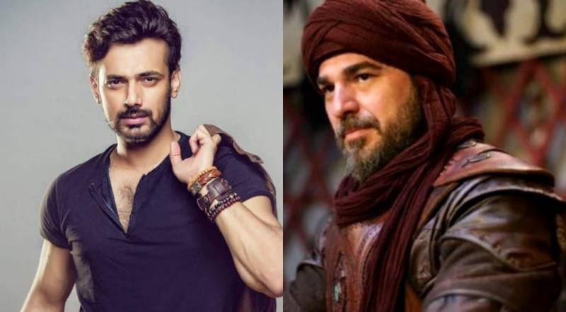 Actors arguing on Ertugrul very shameful, says Zahid Ahmed