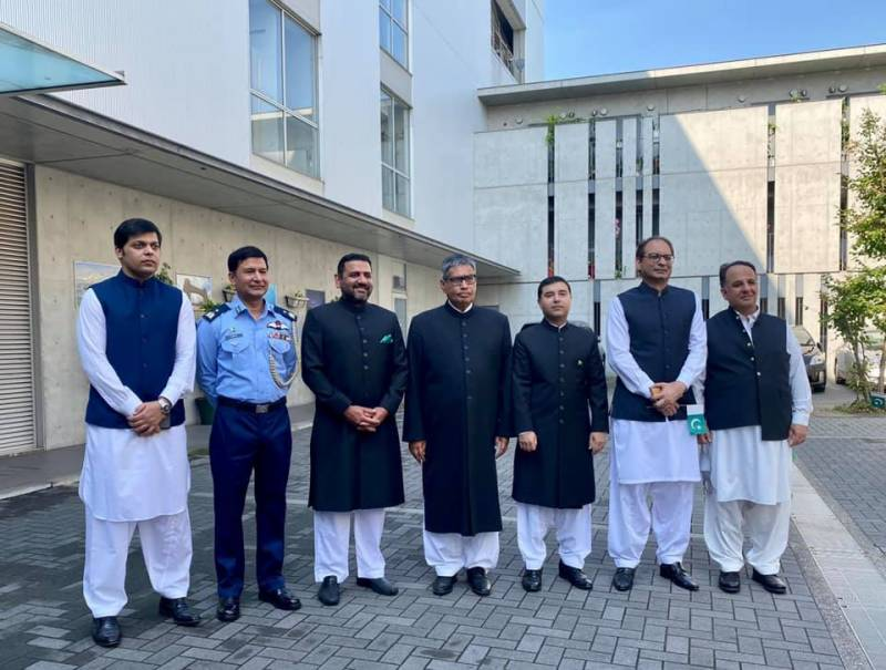 Independence Day celebrated at Pakistan Embassy in Tokyo