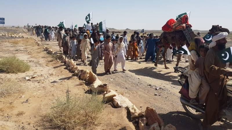 In Pictures: Independence Day celebrations at border zone of Brabcha, Balochistan