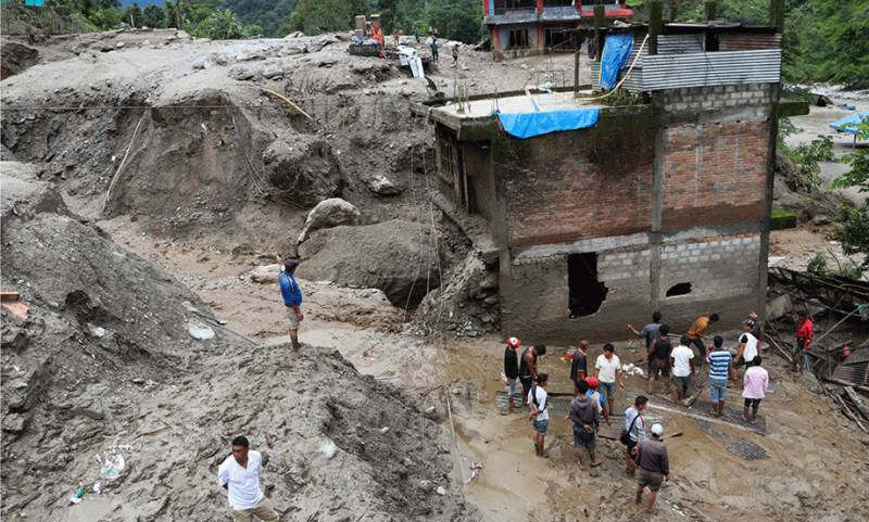Landslide kills 11 in Nepal, 27 missing
