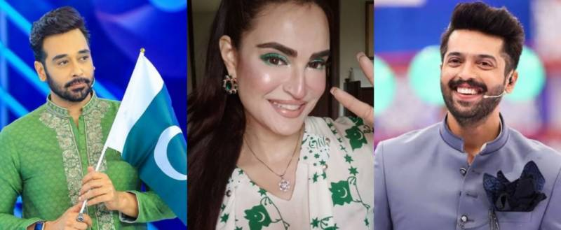 Pakistani celebrities rejoiced on Independence Day