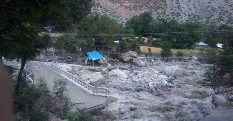 Climate change is real as another Chitral glacier ruptures