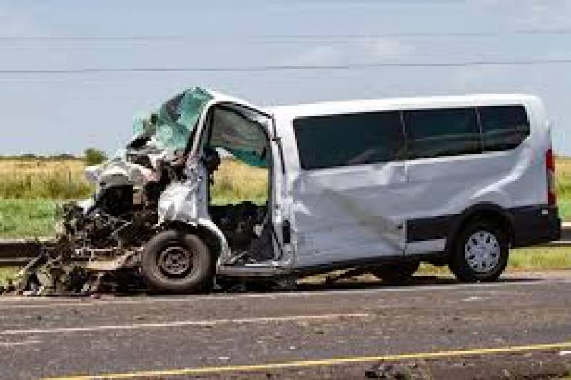 Four of a family die as van rams into trailer on motorway
