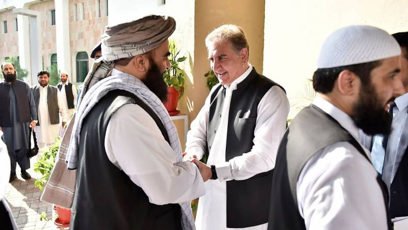 Progress in Afghan peace process result of collective efforts: Qureshi