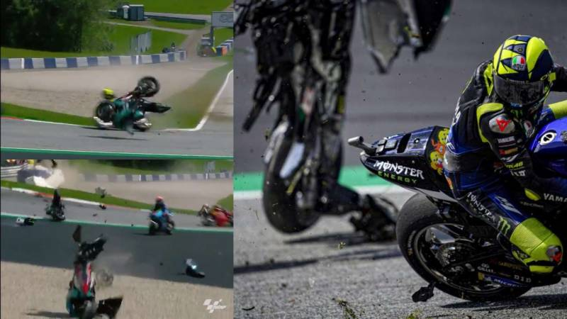 'Almost killed me': Rossi fumes after miracle escape in 300 km/h crash
