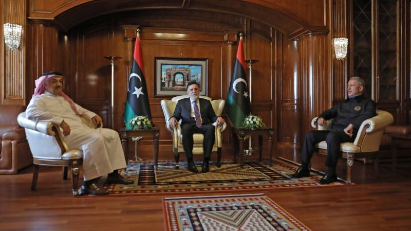 Libya unity govt signs military accord with Qatar, Turkey