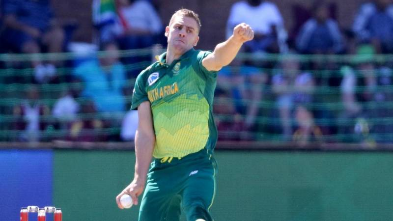 South African Nortje to replace Woakes in Delhi's IPL team