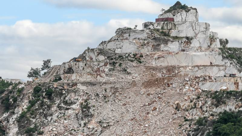 'We want our mountains back': the fight over Myanmar's marble hills