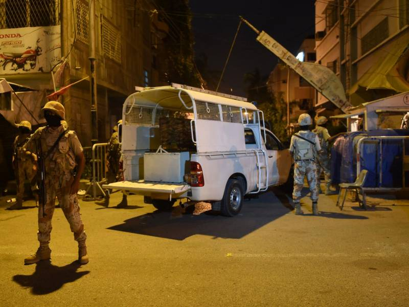 Two wanted terrorists killed in Karachi encounter