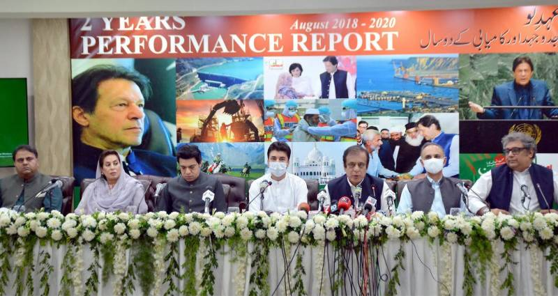 Ministers continue to portray rosy picture of govt's two-year performance