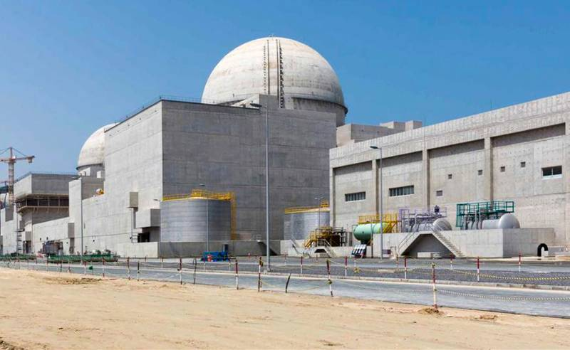 UAE connects first Arab nuclear plant to power grid