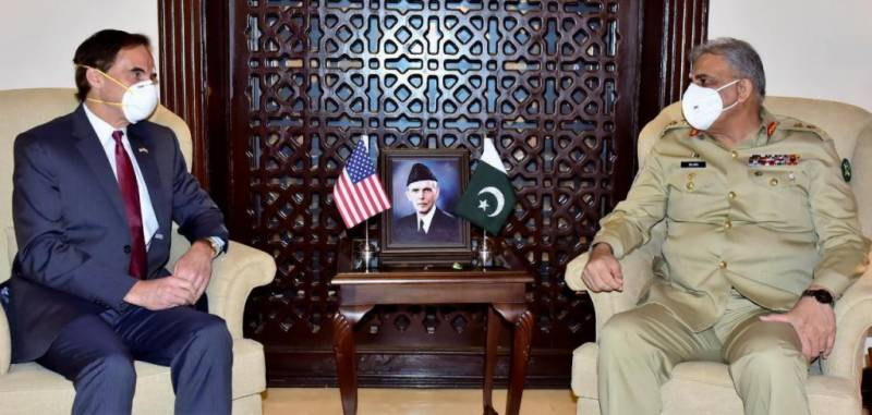 US Charge d'Affaires to Pakistan pays farewell visit to COAS