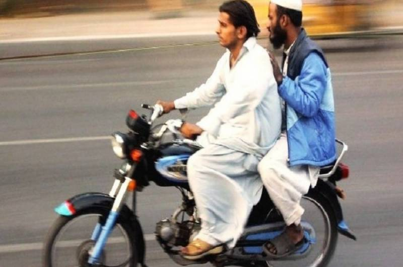 Pillion riding banned on 9th, 10th Muharram in Punjab