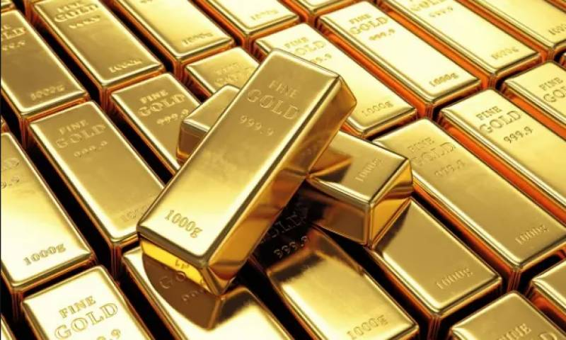 Gold rate rises by Rs500 per tola in Pakistan