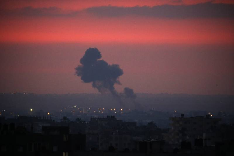 Israeli planes hit Gaza Strip