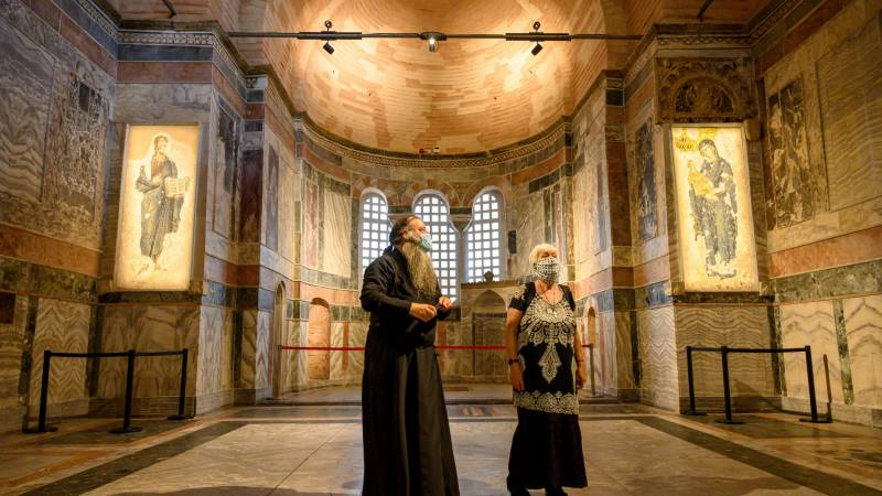 Turkey converts another former church into mosque