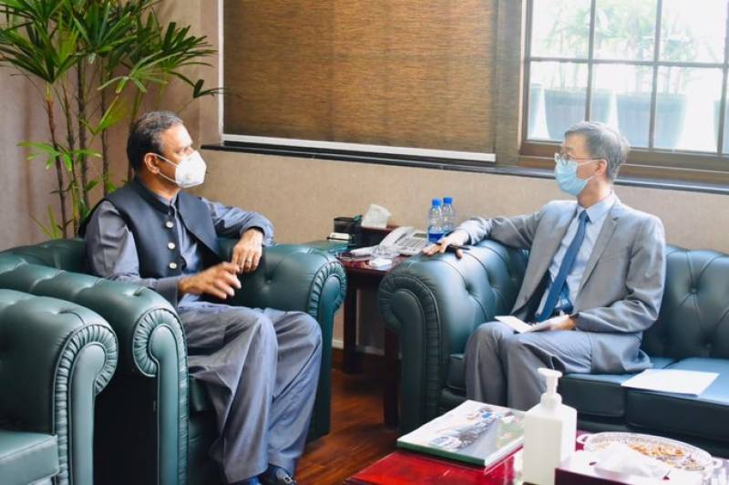 Asim Bajwa, Chinese envoy for greater focus on CPEC
