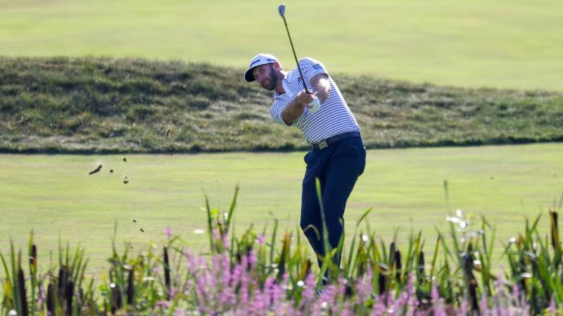 Scheffler shoots 59 but Johnson takes US PGA lead with 60