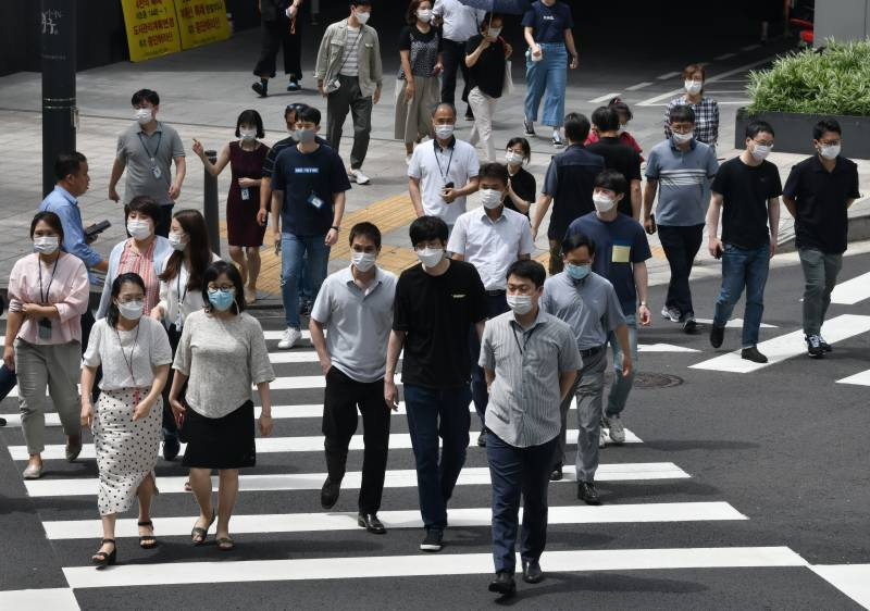 South Korea reports highest daily virus cases since March