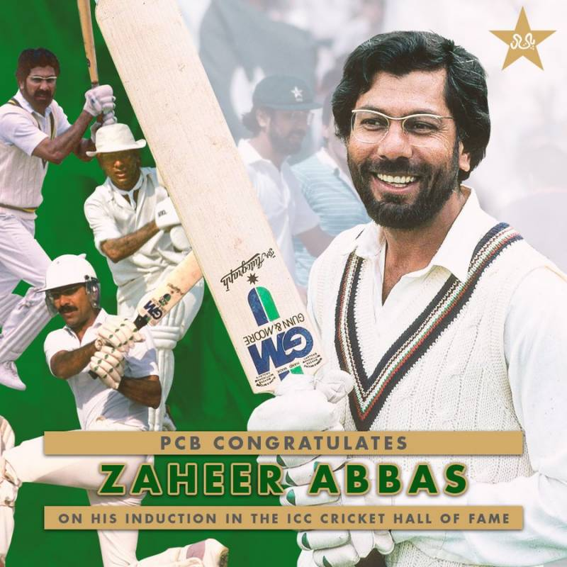Zaheer Abbas, Kallis inducted into ICC Hall of Fame