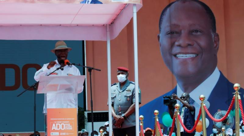 Violence as party chooses ICoast president Ouattara to run again