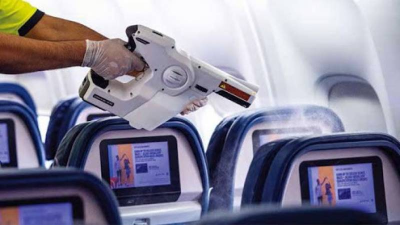 American Airlines deploys new anti-COVID spray in planes