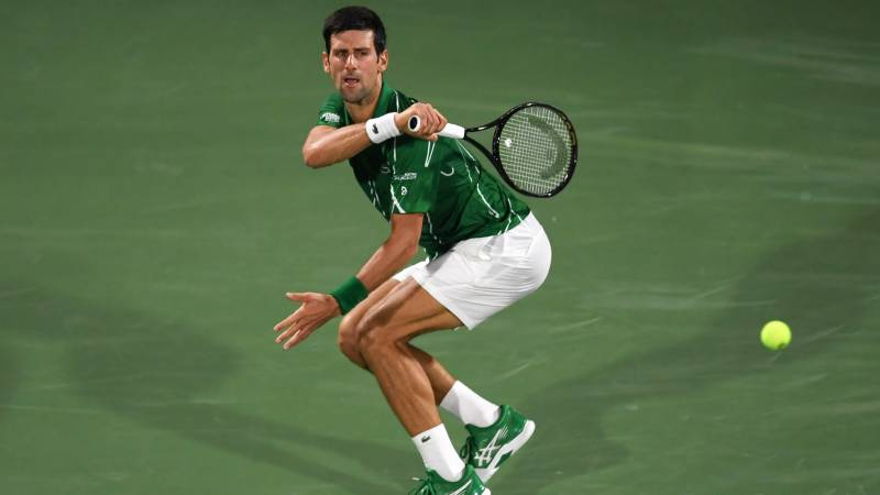Djokovic pulls out of doubles in New York with neck pain
