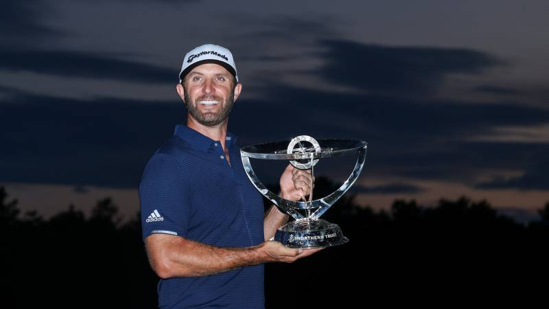Johnson powers to World No 1 with Northern Trust triumph
