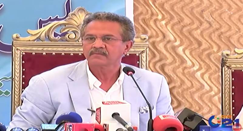 Outgoing Karachi mayor cries over his 4-year performance