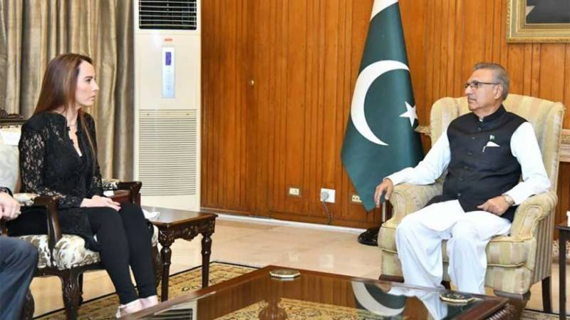 President urges world to take notice of Indian oppression in IIOJK